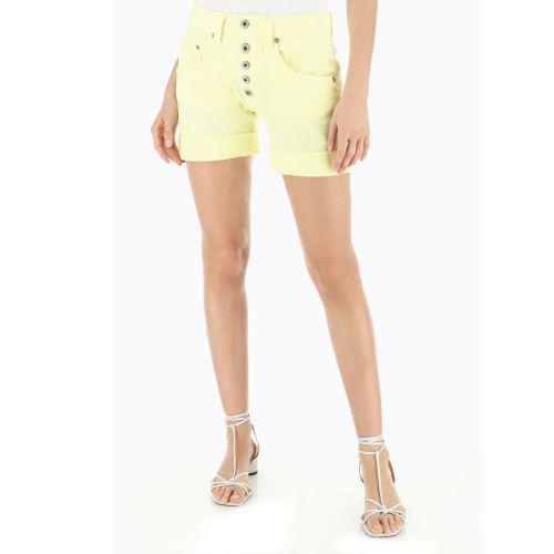 please shorts donna yellow light P88ACV9N3N