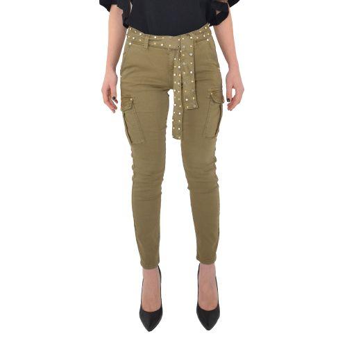 gaudi 111BD25020 2517 pantalone donna verde