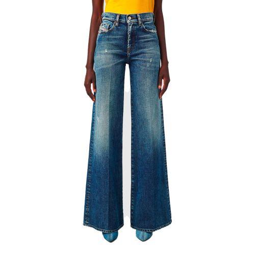 diesel jeans donna denim medio D-AKEMI
