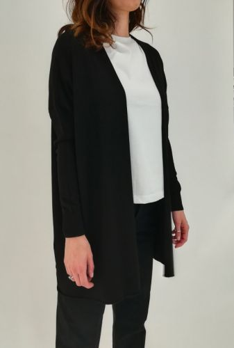 ottod'ame cardigan morbido donna maglia EG5324