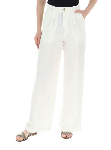 vicolo pantalone donna bianco TH1793