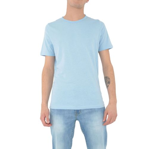 mark up t-shirt uomo celeste MK991009