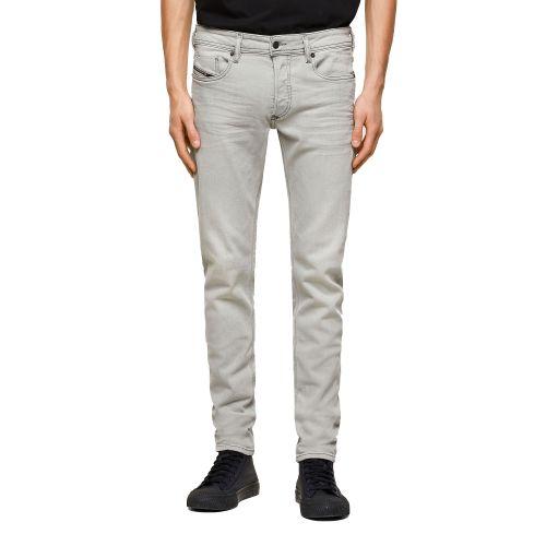 diesel SLEENKER-X 009PY 02 jeans uomo grigio e denim