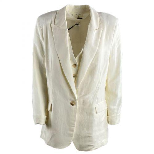 vicolo giacca donna bianco TH1498