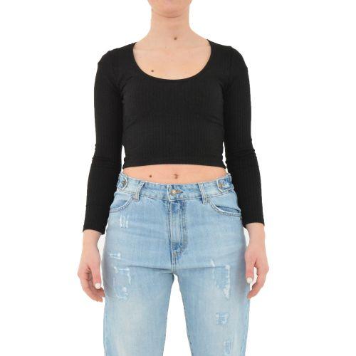 berna W 212065 1 t-shirt donna nero
