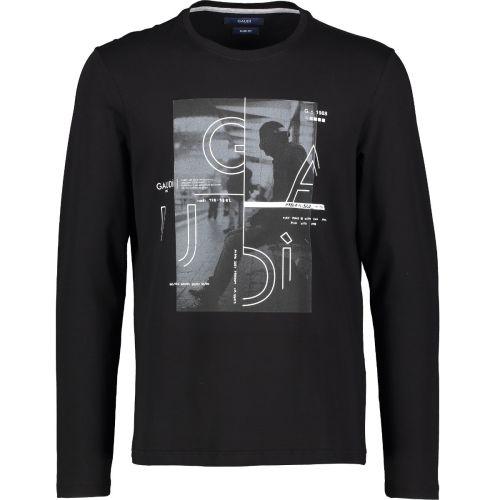 gaudi t-shirt uomo nero 121GU64068