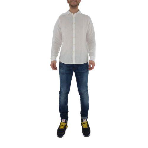mark up MK993003 BIANCO camicia uomo bianco