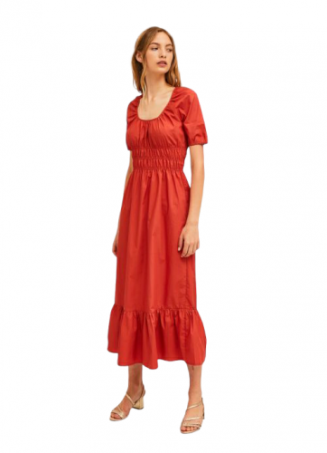 compania fantastica SP21HAN20 MARRONE abito donna  e marrone