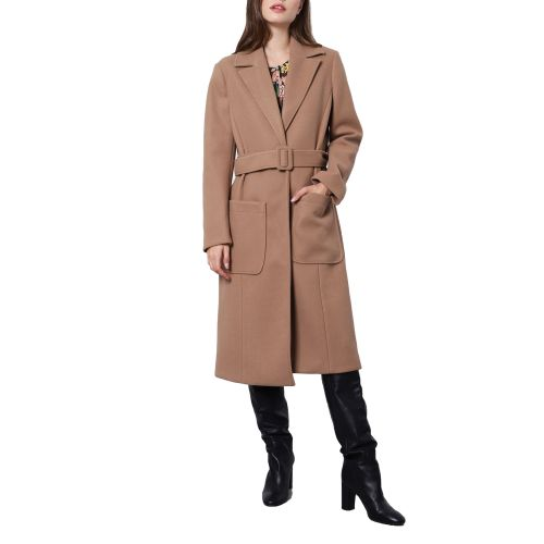 imperial cappotto donna cammello KH01AQVC