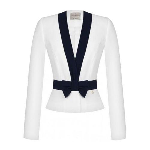 rinascimento CFC0102455003 B440 giacca donna blu