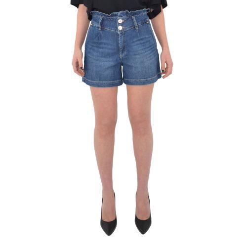 gaudi 111BD26020 00 shorts donna denim