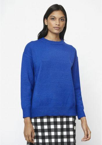 compania fantastica WI19DEJ33 000002 maglia donna blu