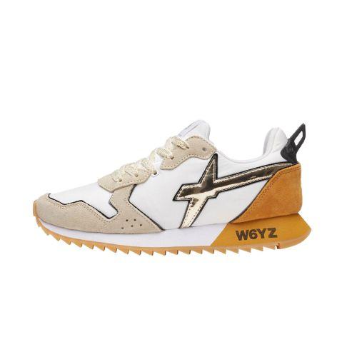 W6YZ JETW 1N08 scarpe donna bianco e giallo