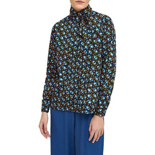 compania fantastica camicia donna nero WI21SHE59