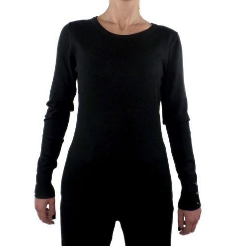 influencer J3560 BLACK maglia donna nero