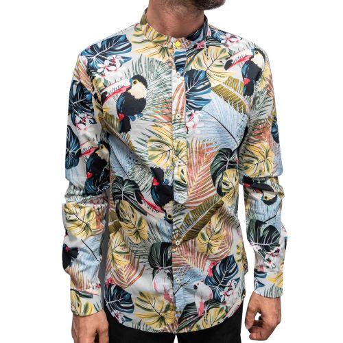 berna camicia uomo multicolor M 210271