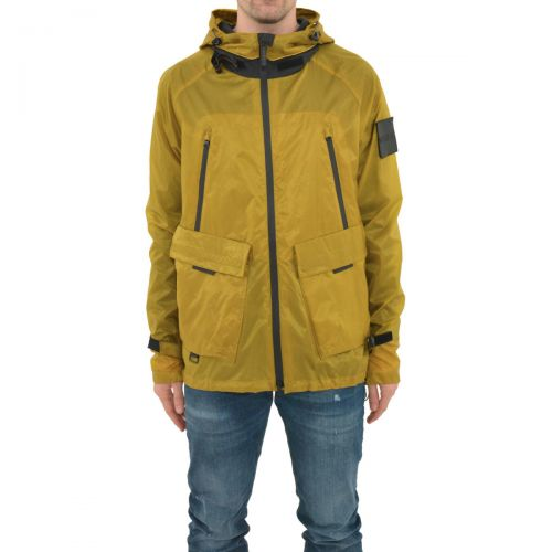 outhere giacca uomo senape