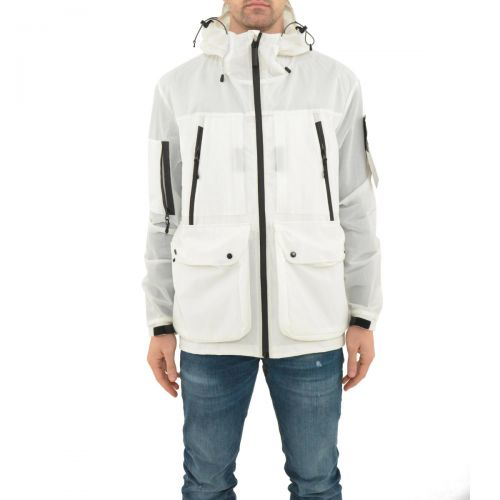 outhere giacca uomo bianco