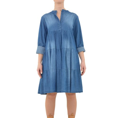 bighet 3617/07 DENIM MEDIO abito donna denim