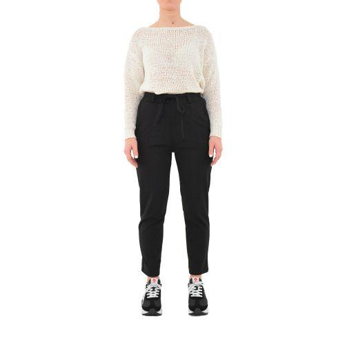 bighet 2585/9807 NERO pantalone donna nero