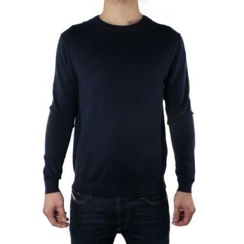 diktat DK87001 BLU NAVY maglia uomo blu