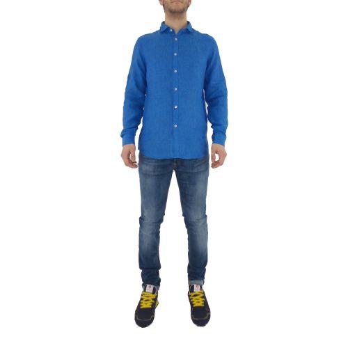 mark up MK993003 BLUETTE camicia uomo blu