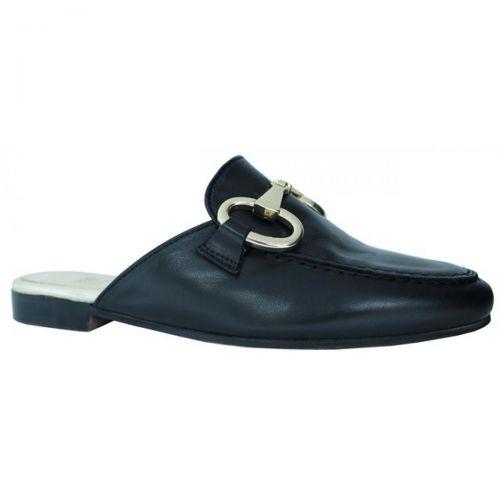 crown scarpe donna nero oro 1097 MORSETTO GIGA