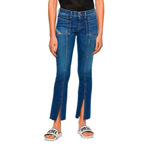 diesel jeans donna denim medio SLANDY-BELL