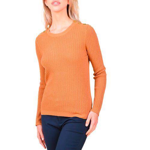 molly bracken maglia donna cammello LA906A21