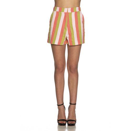 imperial D9990035L 2724 shorts donna rosa e verde