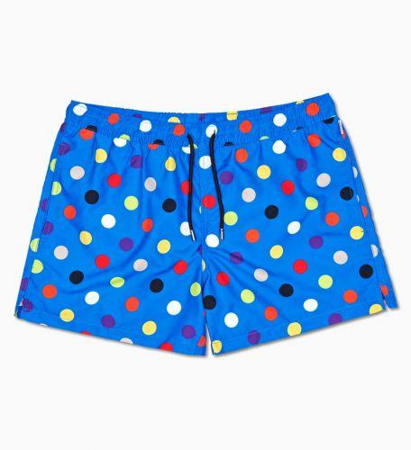 happy socks costume uomo bluette BIG DOT/U