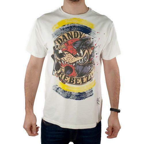 koon 6603 BIANCO t-shirt uomo bianco
