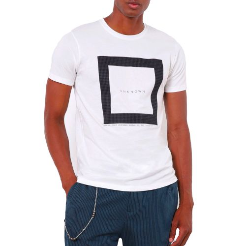 imperial t-shirt uomo bianco T6410128IM