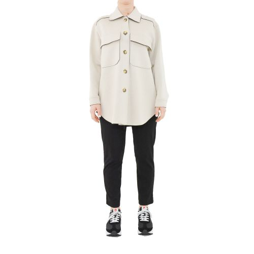 please V493HMARTI 2133 giacca donna beige e nero
