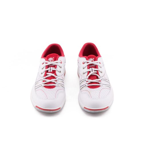 Timberland Uomo Sneakers Bianco Rosso