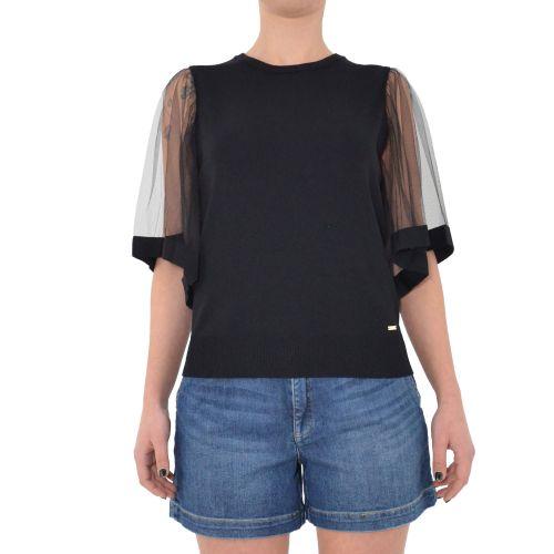 gaudi 111FD53002 2001 maglia donna nero