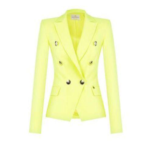 rinascimento giacca donna giallo CFC0103162003