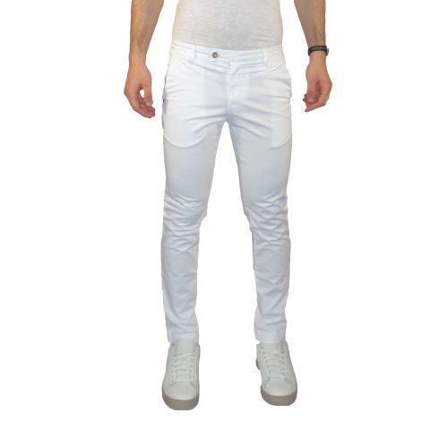 squad2 RKC9069 640 pantalone uomo bianco
