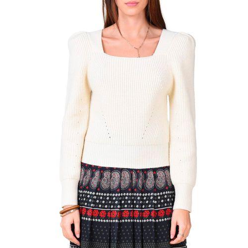 molly bracken maglia donna bianco LA911A21