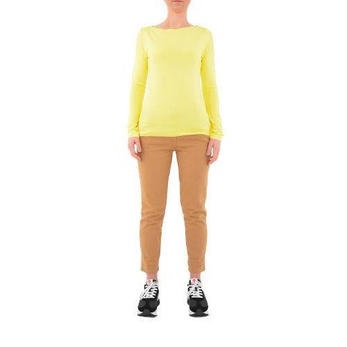 bighet 8198/74003 GIALLO t-shirt donna giallo