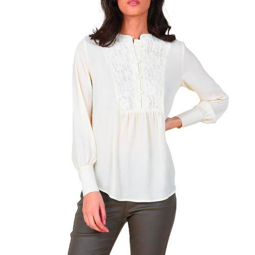 molly bracken blusa donna bianco G628H21