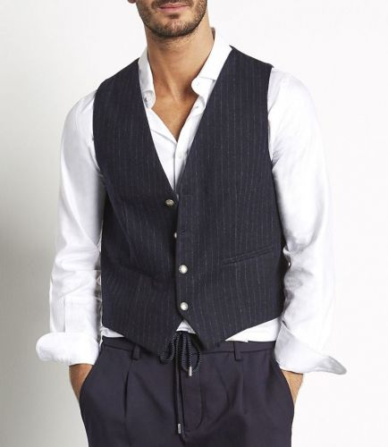 mark up MK89918 BLU gilet uomo blu