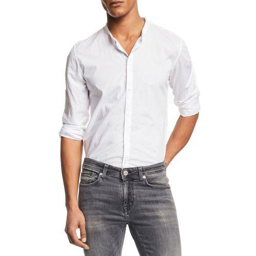 gaudi 111GU45034 2100 camicia uomo bianco