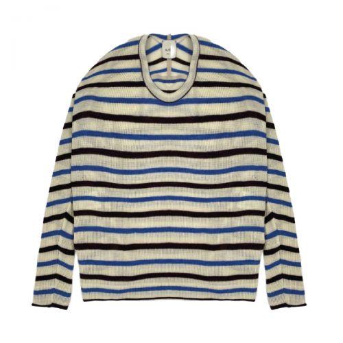 alysi stripes tricot donna maglia 151408