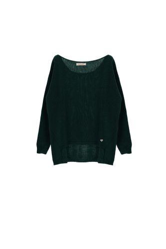 please maglia donna verde M49775061