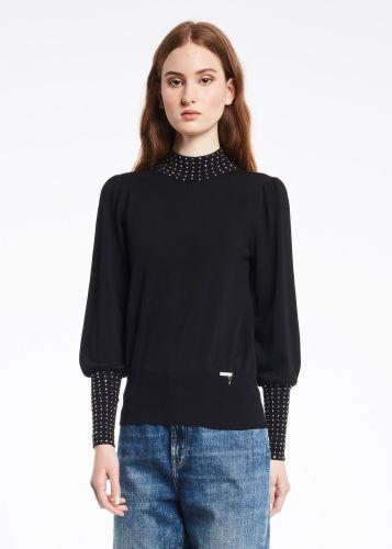 gaudi maglia donna nero 121BD53009