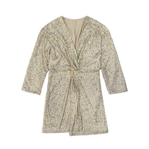 rame abito paillettes a kimono donna abito GSABI01