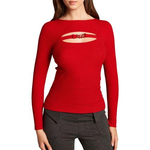denny rose maglia donna rosso 121DD50009