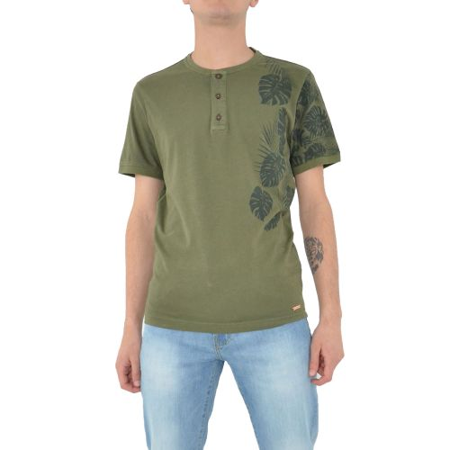 mark up MK991078 MILITARE t-shirt uomo verde