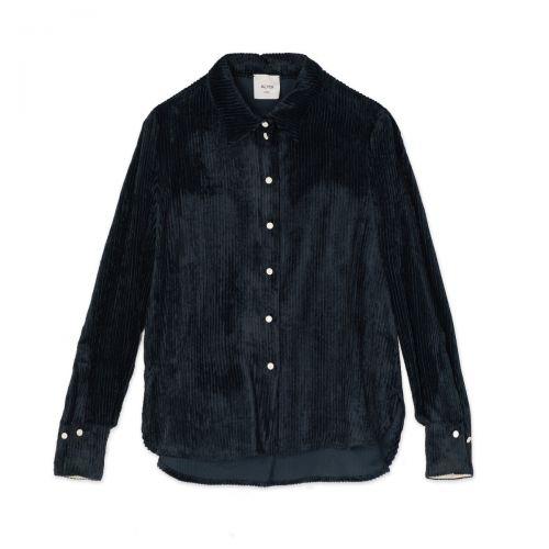 alysi velvet rib donna camicia 151219